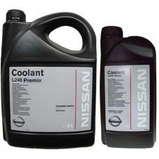 Antifreeze Nissan Coolant L248 Premix  G11 (5л)