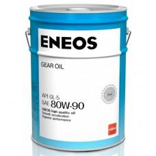 Масло трансмиссионное ENEOS GEAR GL-5 80w90 20л