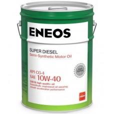 Моторное масло ENEOS Super Diesel CG-4 10W-40 20л