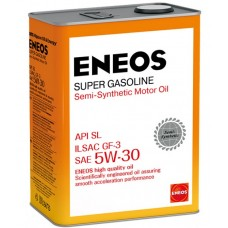 Моторное масло ENEOS SUPER GASOLINE SEMI-SYNTHETIC 5W-30 4 л