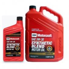 Моторное масло Ford Motorcraft Synthetic Blend Motor Oil 5W-30 5 л