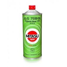 Трансмиссионное масло MITASU GEAR OIL GL-5 75W-90 100% Synthetic 1л