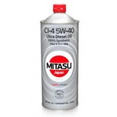 Моторное масло MITASU ULTRA DIESEL CI-4 5W-40 1 л