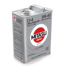 Моторное масло MITASU ULTRA DIESEL CI-4 5W-40 4 л