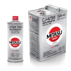 MITASU ULTRA DIESEL CJ-4/SM 5W-40 100% Synthetic