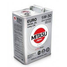 MITASU EURO DIESEL LL 5W-30 100% Synthetic 4 л