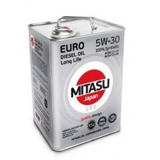 MITASU EURO DIESEL LL 5W-30 100% Synthetic 6 л