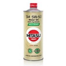 Моторное масло MITASU MOLY-TRiMER SM 5W-50 100% Synthetic 1 л