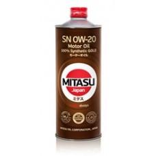 MITASU GOLD SN 0W-20 ILSAC GF-5 100% Synthetic 1 л