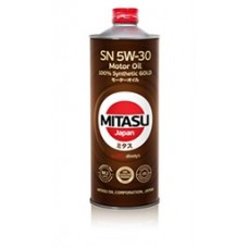 MITASU GOLD SN 5W-30 ILSAC GF-5 100% Synthetic 1л