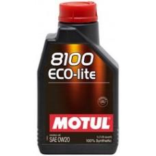 Моторное масло MOTUL 8100 Eco-lite 0w20 1 л