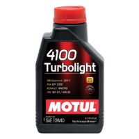 MOTUL 4100 Turbolight 10W-40 1 л
