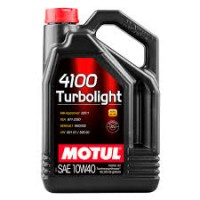 MOTUL 4100 Turbolight 10W-40 4 л