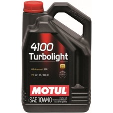 Моторное масло MOTUL 4100 Turbolight 10W40 5 л