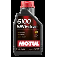 Масло моторное MOTUL 6100 SAVE-CLEAN+ 5W-30 (1л)