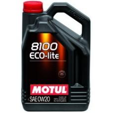 Масло моторное MOTUL 8100 Eco-lite 0W-20 (5л)