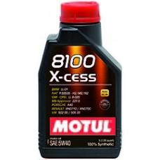 Моторное масло MOTUL 8100 X-Cess 5W-40 1 л