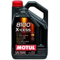 Моторное масло Motul 8100 X-cess 5W40 5 л