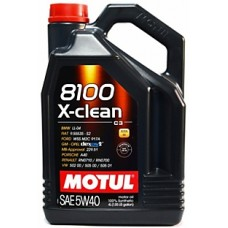 Моторное масло Motul 8100 X-clean 5W-40 4 л