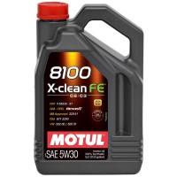 Motul 8100 X-clean FE 5W-30 (5л)