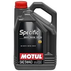 MOTUL SPECIFIC 502 00 / 505 00 / 505 01 5W-40 (5л)