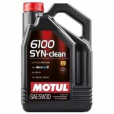 Моторное масло Motul 6100 SYN-clean 5W30 (5л)