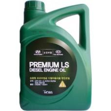 Моторное масло Mobis Premium LS Diesel 5W-30 6 л