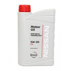 Моторное масло Nissan Motor Oil 5w-30 C4 1 л