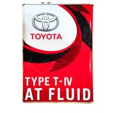 Трансмиссионное масло TOYOTA ATF Type T-IV 4 л