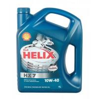 Shell Helix HX7 10w40 4 л