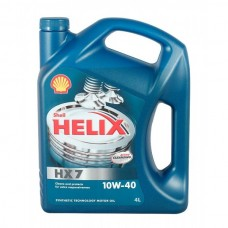 Моторное масло SHELL Helix HX7 10W-40 4 л