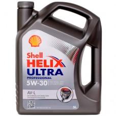 Моторное масло SHELL Helix Ultra Professional AV-L 5W-30 5 л