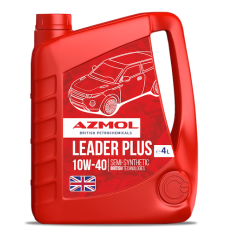 Моторное масло AZMOL Leader Plus 10W-40 4 л