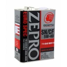 IDEMITSU ZEPRO Euro Spec SN/CF 5W-40