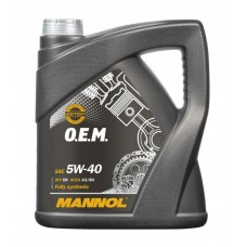 Моторное масло MANNOL O.E.M. for Daewoo GM 5W-40 4л