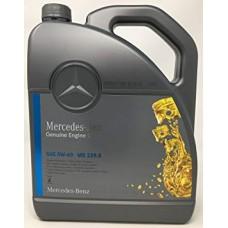 Оригинальное моторное масло MERСEDES MB 229.5 Engine Oil 5W-40