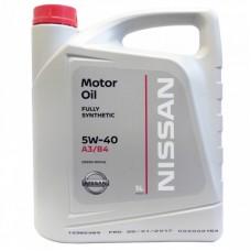 Nissan Motor Oil 5W-40
