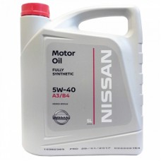 Масло моторное Nissan Motor Oil 5W-40