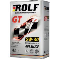 Масло ROLF GT SN/CF 5W-30