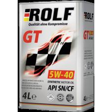Масло ROLF GT SN/CF 5W-40