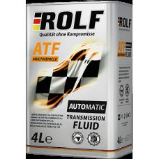 Трансмиссионное масло Rolf ATF Multivehicle 4л