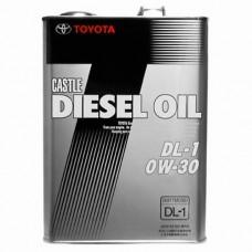 Масло моторное Toyota Castle Diesel Oil DL-1 0W-30 4 л