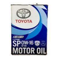 Toyota 0W16 SP/GF-6