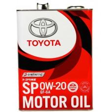 TOYOTA Motor Oil 0W-20